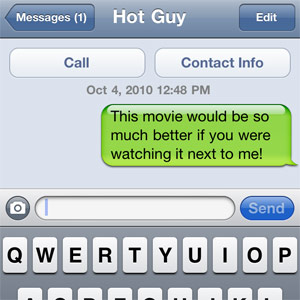 Online text dating